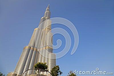 Burj Dubai, Dubai, UAE Editorial Stock Image