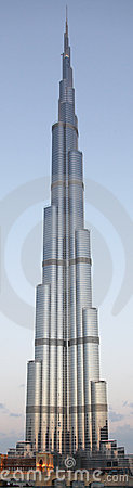 Burj Dubai / Khalifa Full View Editorial Image
