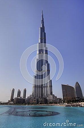 Free Burj Khalifa. Stock Photography - 17216442