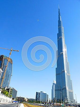 Burj Khalifa Dubai Editorial Stock Photo