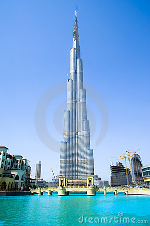 Free Burj Khalifa Dubai Stock Photo - 19323040