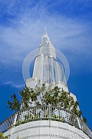 Burj Khalifa, Dubai Editorial Stock Photo