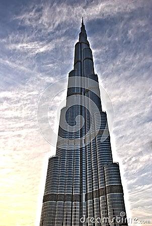 Free Burj Khalifa Dubai Royalty Free Stock Photo - 24206415