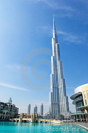 Burj Khalifa (Dubai) Tower - Dubai UAE Stock Images - Image: 12702744