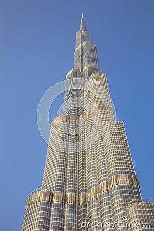 Burj Khalifa, Dubai, UAE Editorial Image