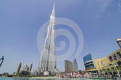 The burj khalifa Editorial Photography
