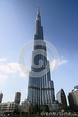 Burj Khalifa Tower Editorial Photography