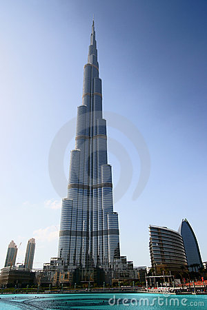 Burj Khalifa Tower Editorial Stock Image