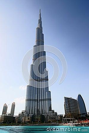 Burj Khalifa Tower Editorial Stock Image