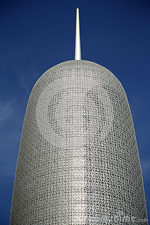 Burj Qatar in Doha Editorial Image