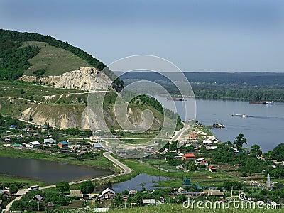 Burlaka on the Volga