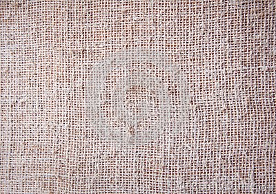 Burlap, coarse texture, background texture