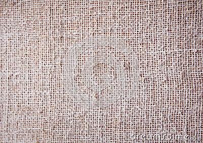 Burlap, coarse texture, background texture