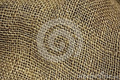 Burlap fabric background
