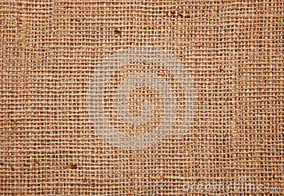 Burlap fabric background texture