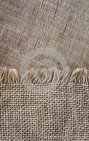 Free Burlap Textureon A Wooden Background, Rustic, Christmas . Pattern  Fabric Textile. Texture Background Royalty Free Stock Photos - 100401198