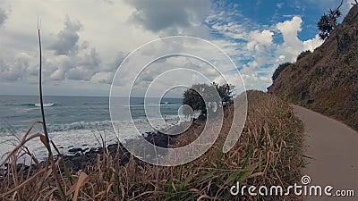 Burleigh Headland Ocean View Spacer Gold Coast Landscape & Sea Australia QLD zbiory