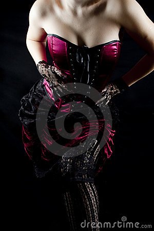 Free Burlesque Woman Body Royalty Free Stock Image - 8561726