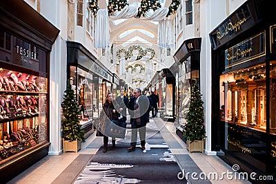 The Burlington Arcade in London Editorial Photo
