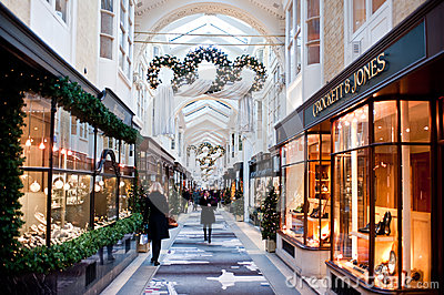 The Burlington Arcade in London Editorial Photography