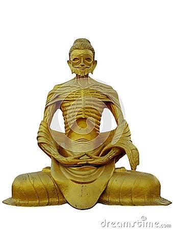Burma.   Buddha Skeletal