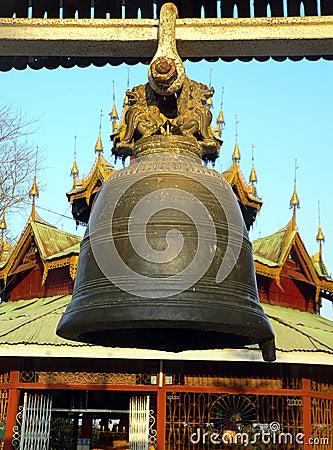 Burma. Kyaukme Monastery Bell