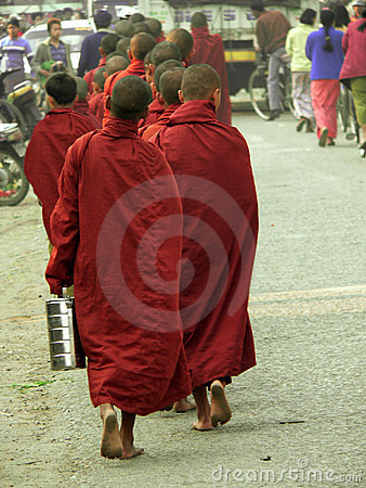 Burma Kyaukme Monks