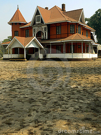 Burma. Restored Colonial House