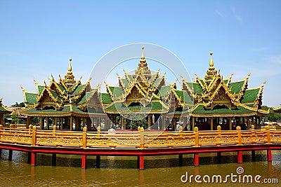Burma style palace