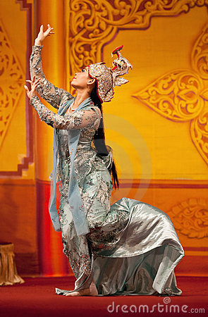 Burmese classical Dance Editorial Photo