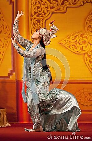 Burmese classical Dance Editorial Photo
