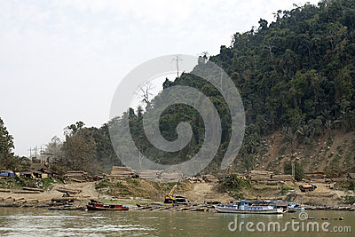Burmese Logging Camp