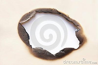 Burn Hole