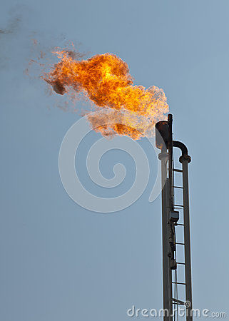 Burn off tower