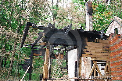 Burned down house 2