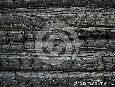 Burned wall