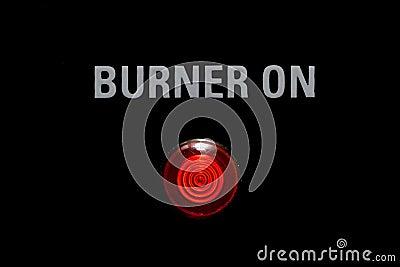 Burner On