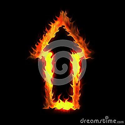 Burning arrow