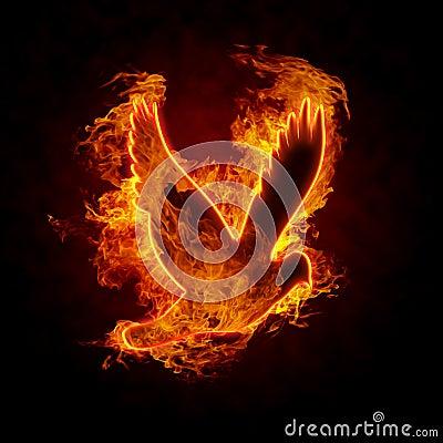 Free Burning Bird Stock Photography - 18153832