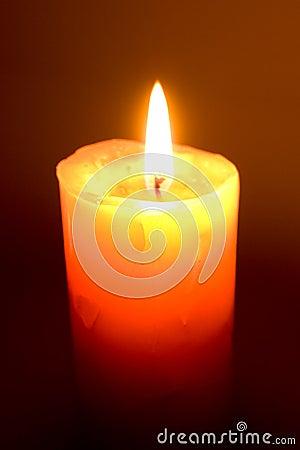 Free Burning Candle Stock Photography - 19976652