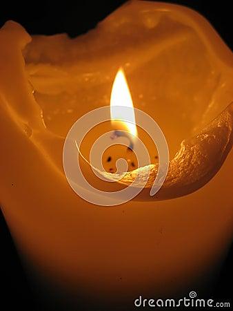 Free Burning Candle Royalty Free Stock Photography - 3040247
