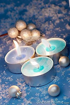 Free Burning Candles Stock Image - 2120761