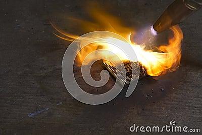 Burning cpu