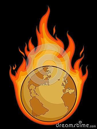 Burning Desolated Earth