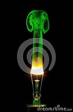 Burning Filament