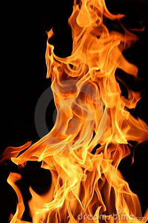 Free Burning Fire Royalty Free Stock Photo - 2179715