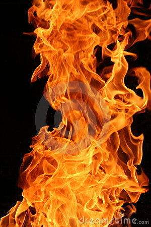 Free Burning Flames Stock Photo - 3372120