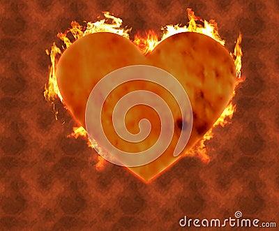 Burning heart 2