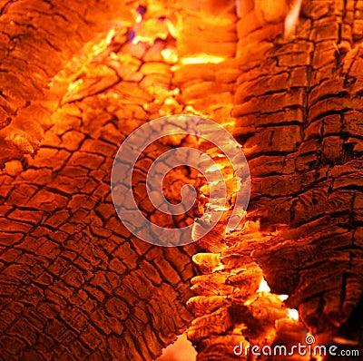 Free Burning Hot Embers Stock Photo - 11132330