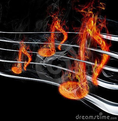 Burning music